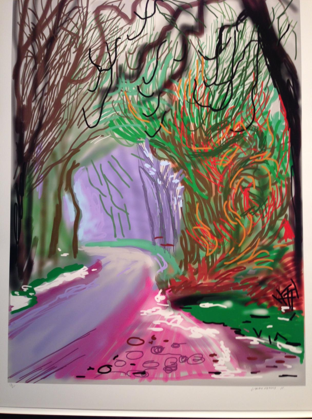 Ipad Ipad Paintings David Hockney