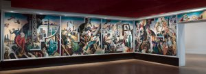 America Today by Thomas Hart Benton, on display at the Met