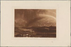 """Print from """"Sublime, The Prints of  J.M.W. Turner and Thomas Moran"""