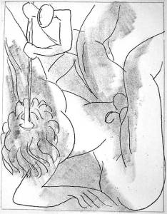 Matisse illustration from 1935 edition of  James Joyce's Ulysses