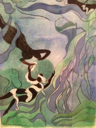 "Romare Bearden, ""The Sea Nymph,"" 1978"