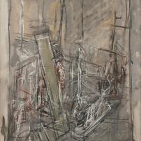 Alberto Giacometti, L'Atelier (The Studio), 1951 Oil on canvas