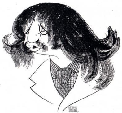 Al Hirschfeld (1903-2003), Ringo Starr in The Magic Christian. 1969, ink on board