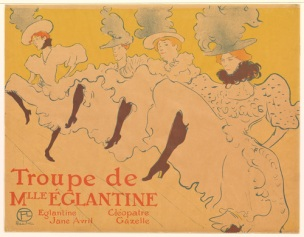 Mademoiselle Eglantine's Troupe (lithograph) 1896