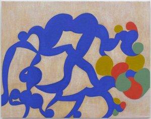 Thomas Nozkowski, Untitled (9-32), oil on linen panel