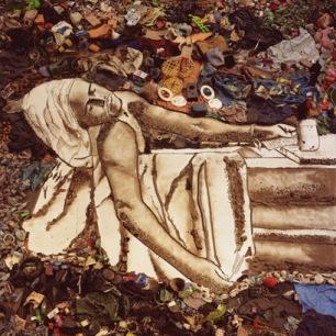 """Vik Muniz, """"Marat/Sebastiao,- Pictures of Garbage"""