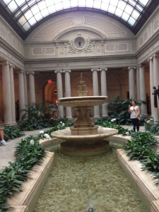 Garden Court at The Frick Collection