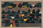 Jacob Lawrence, Railway Station, Migration Series,1941