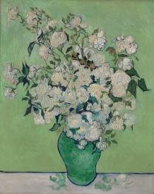 Vincent van Gogh (Dutch, Zundert 1853–1890 Auvers-sur-Oise)Roses, 1890 Oil on canvas