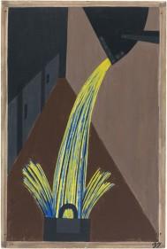 Jacob Lawrence, Steel, Migration Series, 1941