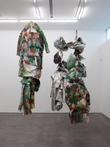 Marisa Merz, Living Sculpture, 1966 Strips of aluminum