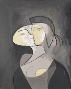 Pablo Picasso Marie-Thérèse, face et profil, 1931 Oil and charcoal on canvas